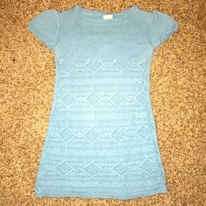 Gymboree Dress short sleeve knit teal warm!